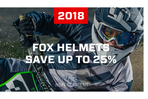 2018 Fox Helmets - Save Up To 25%