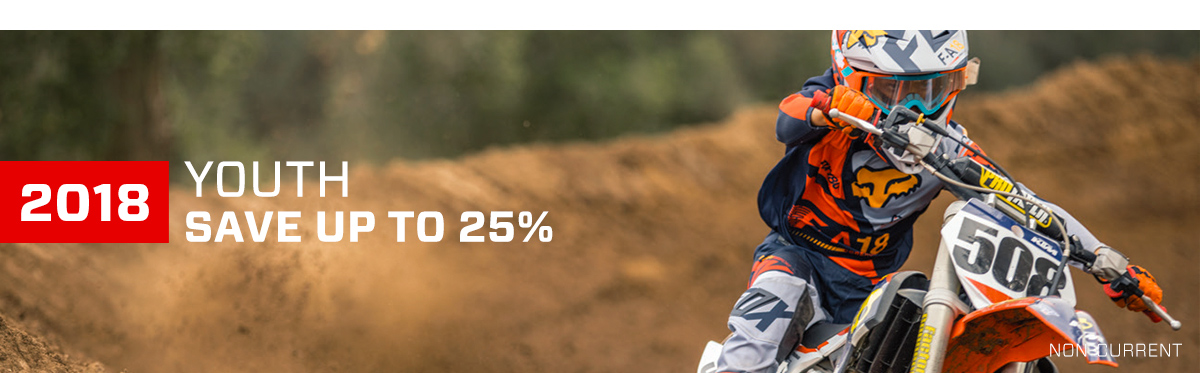 2018 Fox Youth - Save Up To 25%