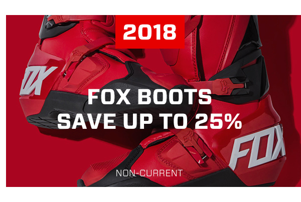 2018 Fox Boots - Save Up To 25%