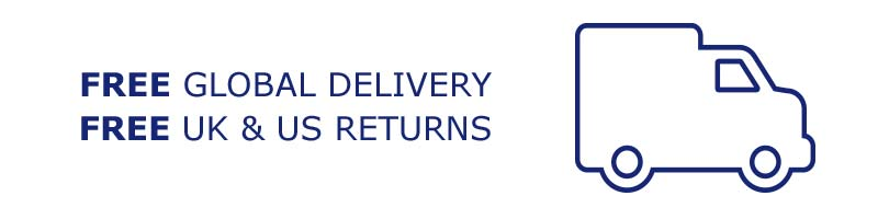 FREE Global Delivery | FREE UK US Returns