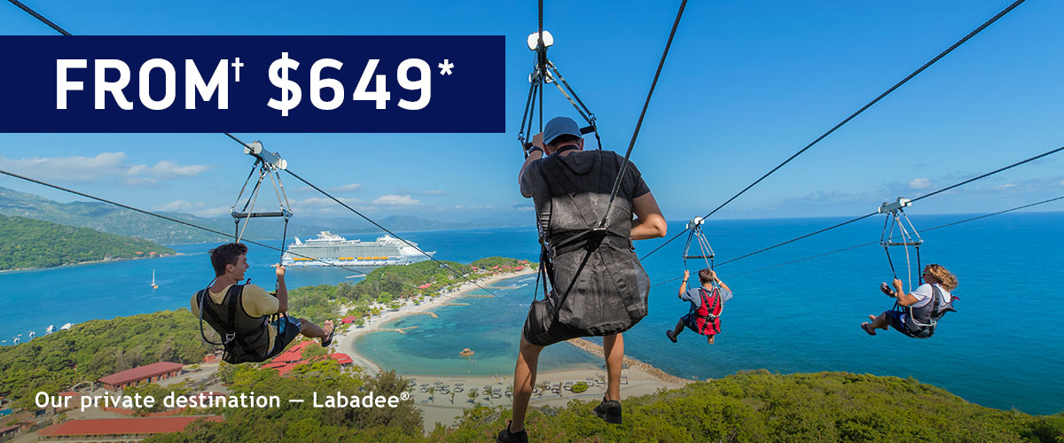 Our private destination - Labadee