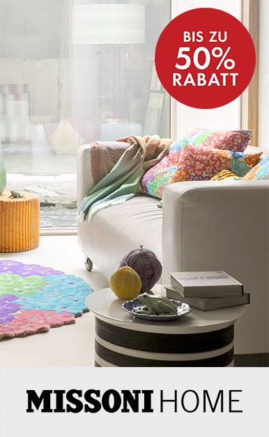 Up to 50% off Missoni Home
