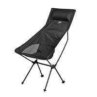 Pure Outdoor by Monoprice Tall Camp Chair