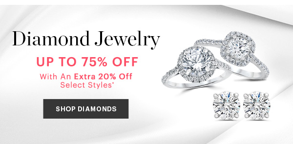 DIAMOND JEWELRY UP TO 75% OFF, SHOP NOW