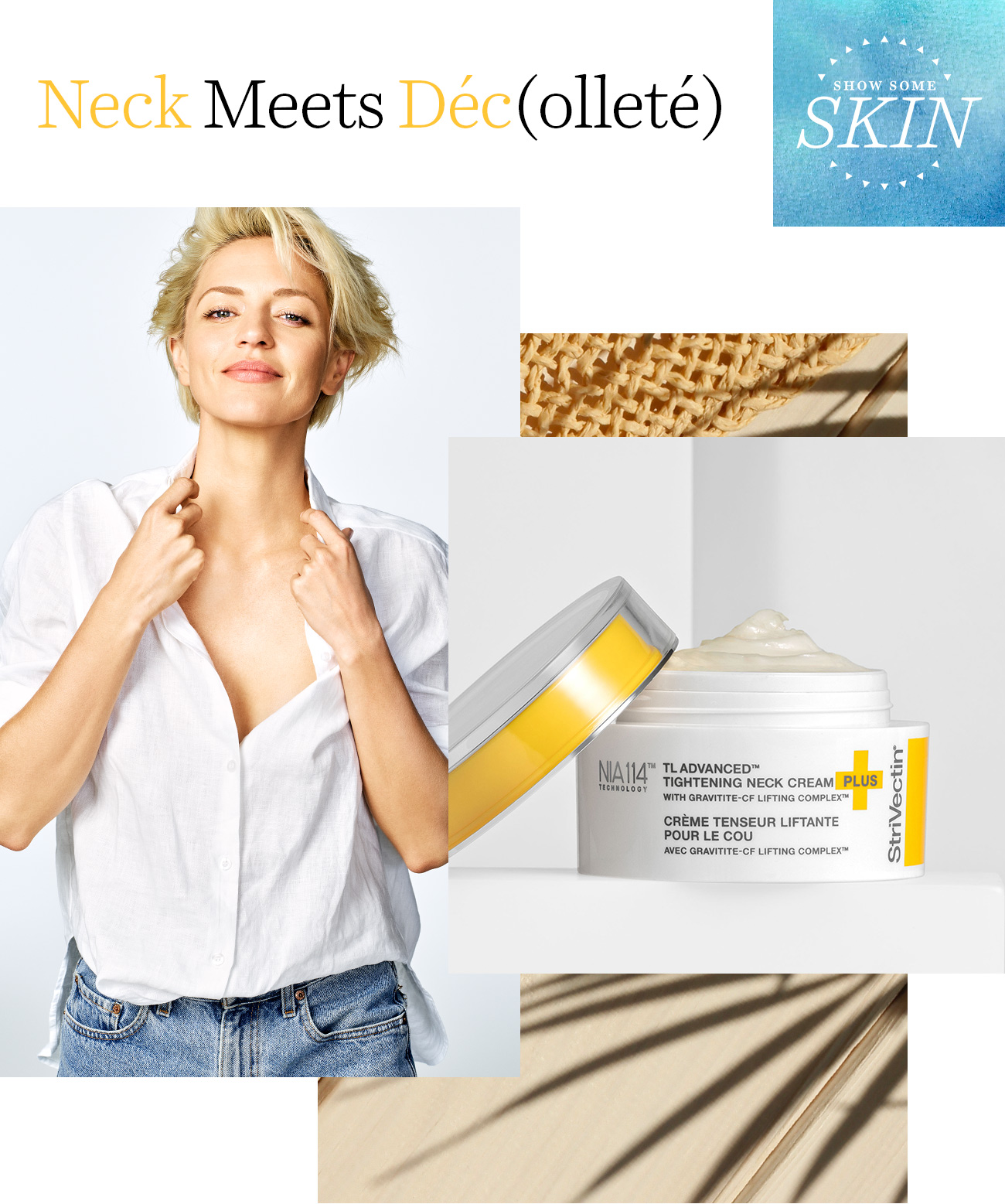Shop TL Advanced Tightening Neck Cream Plus