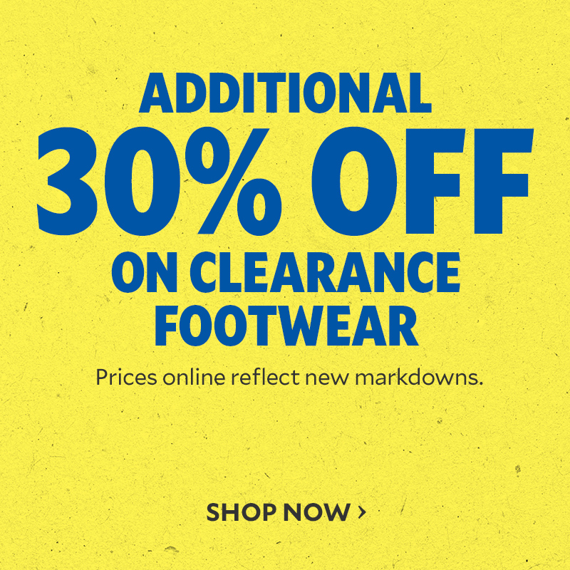 Additional 30% Off Clearance FW