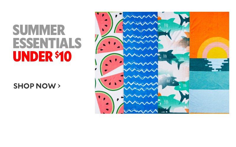 summer essentials under $10