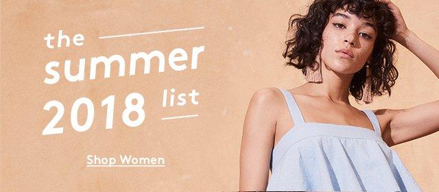 the summer 2018 list | Shop Women