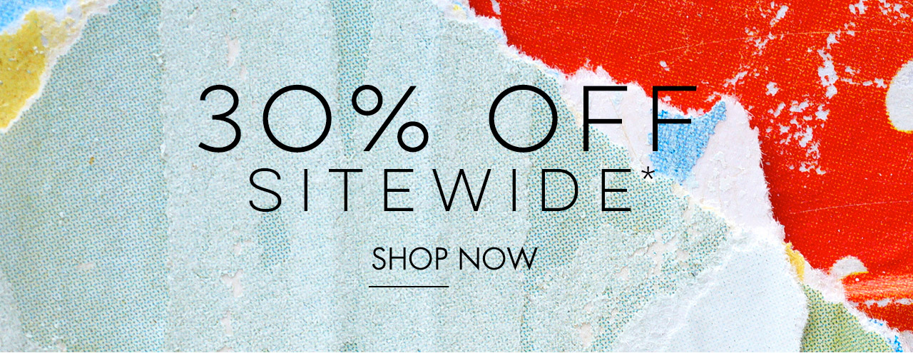 30% Off Sitewide - Shop Now