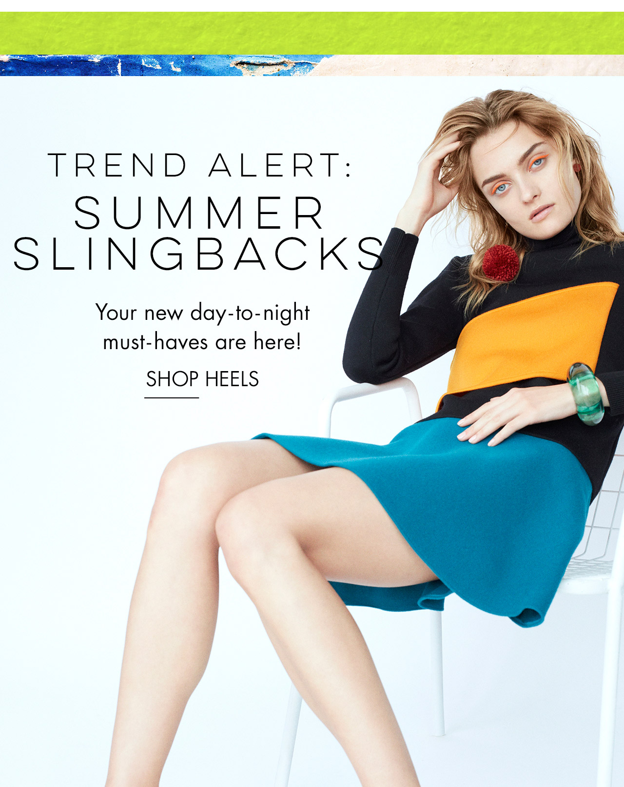 Trend Alert - Summer Slingbacks - Shop Heels