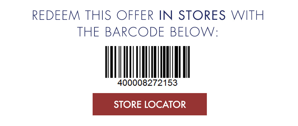 Additional $50 Off $200 In Stores and Online. Use Barcode Below In Stores