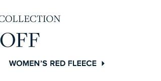 WOMEN'S RED FLEECE