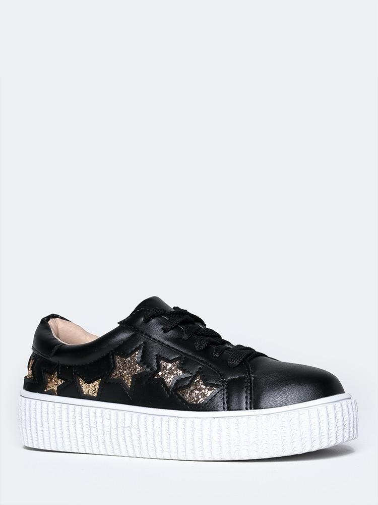 Image of Low Wedge Creeper Sneaker