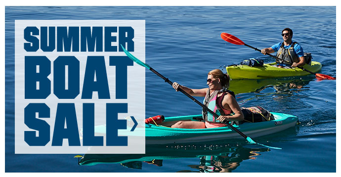 SUMMER BOAT SALE >