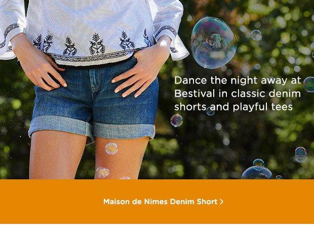 Shop Maison De Nimes Short
