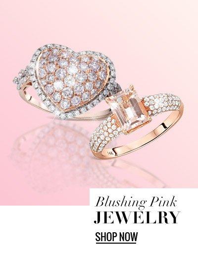 Blushing Pink Jewelry