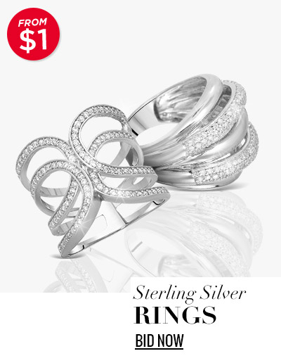 Sterling Silver Rings from $1