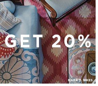 get 20%