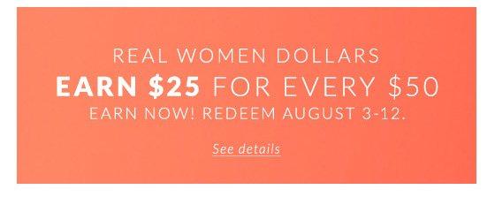 Real Women Dollars