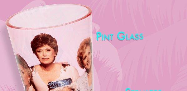 Shop Golden Girls Pint Glass