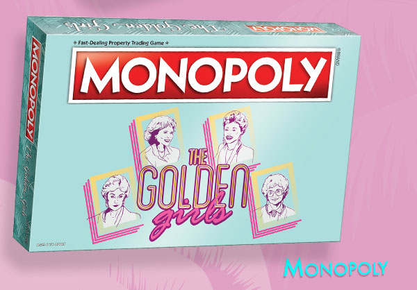 Shop Golden Girls Monopoly Game