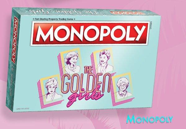 Shop Golden Girls Monopoly Game
