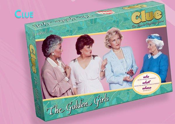 Shop Golden Girls Clue Game