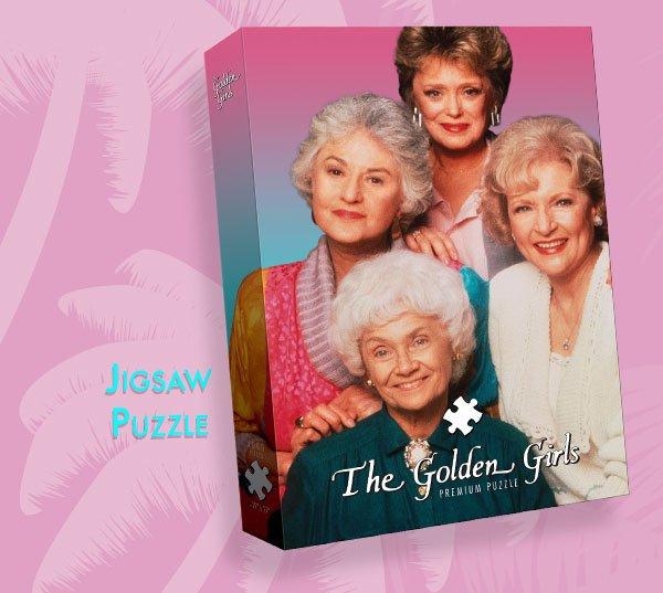 Shop Golden Girls Jigsaw Puzzle