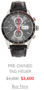 Carrera Monaco Grand Prix Limited Edition Stainless Steel Automatic