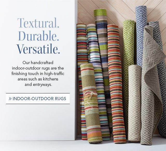 Indoor - outdoor rugs
