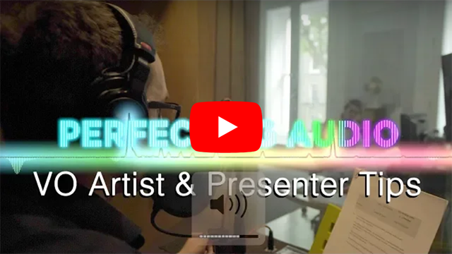Tips for the Aspiring VO Artist & Presenter: Perfec