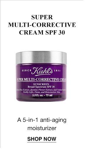 SUPER MULTI-CORRECTIVE CREAM SPF 30 - A 5-in-1 anti-aging moisturizer - SHOP NOW