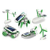6 In 1 Robot Toy Cars Solar Powered Toys ...
