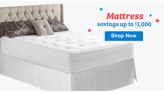 Mattress savings up to $1,000 Shop Now