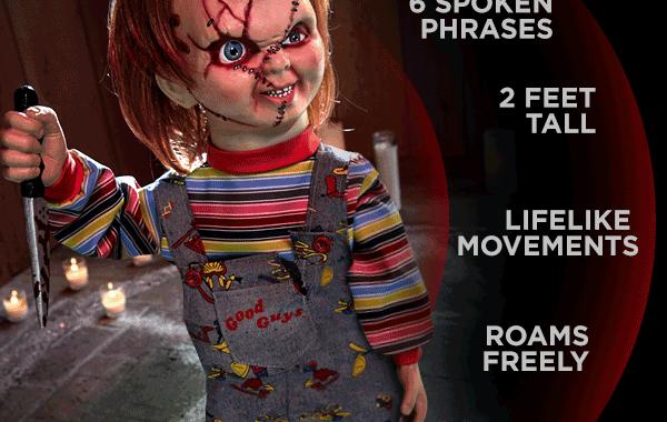 Shop Chucky Animatronic