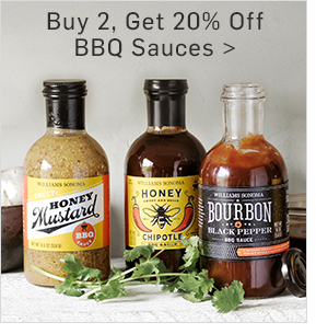 Buy 2, Get 20% Off BBQ Sauces