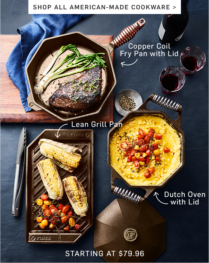 SHOP ALL AMERICAN-MADE COOKWARE
