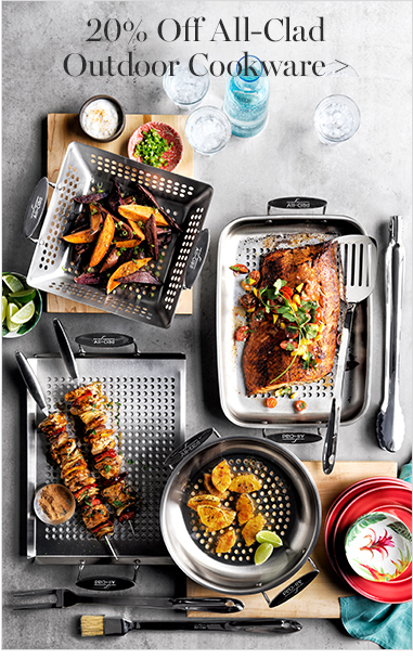 20% Off All-Clad Outdoor Cookware