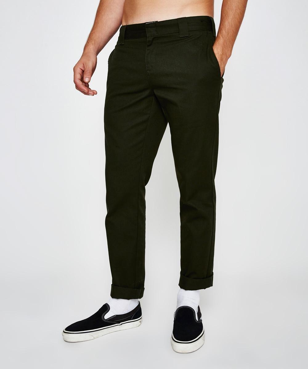 872 Slim Tapered Pant Olive