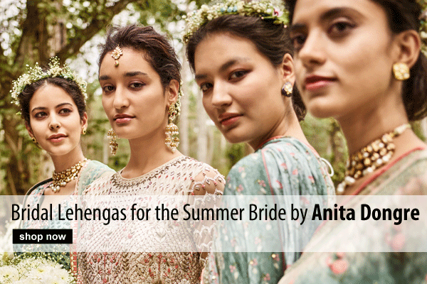 Bridal Lehengas for the Summer Bride by Anita Dongre