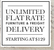 UNLIMITED FLAT RATE FURNITURE & FREIGHT DELIVERY - STARTING AT $129