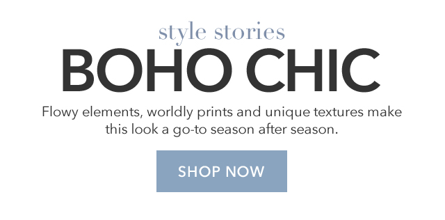 Style Stories Boho Chic
