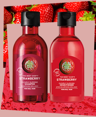 Strawberry Shampoo & conditioner