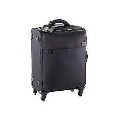 """Lipault Black 22"""" Paris 4-Wheeled Luggage"""