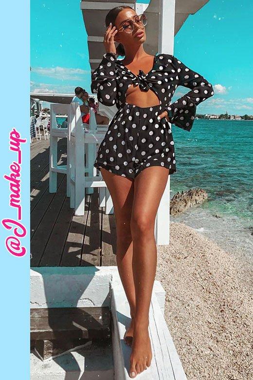 Samanthat black polkadot 01 July 2018