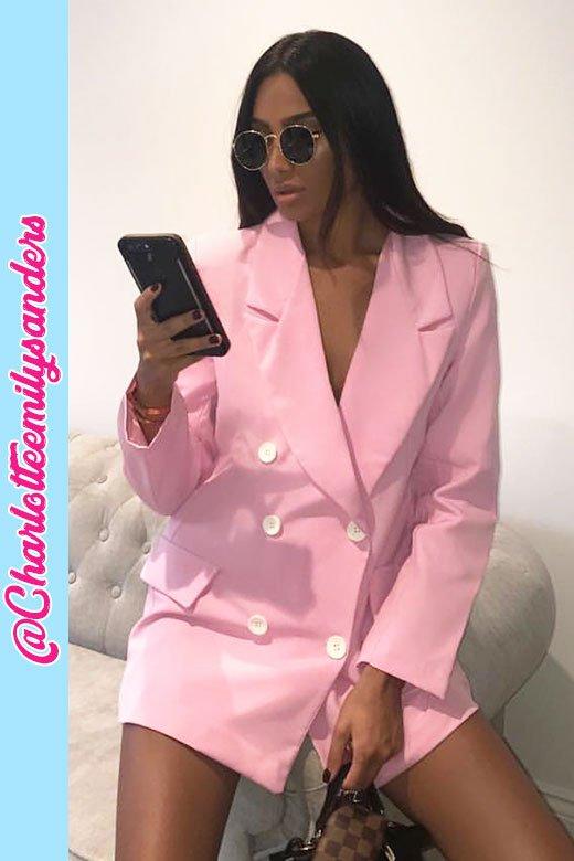 Sophia Pink double blazer 01 July 2018