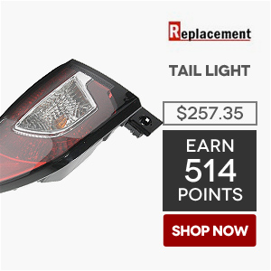 Replacement Tail Light | Price: $257.35 | Earn 514 Points