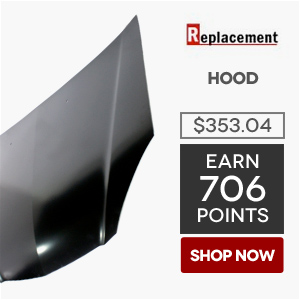 Replacement Hood | Price: $353.04 | Earn 706 Points