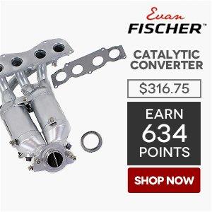 Evan Fischer Catalytic Converter   Price: $316.75   Earn 634 Points