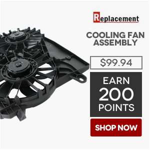 Replacement Cooling Fan Assembly | Price: $99.94 | Earn 200 Points